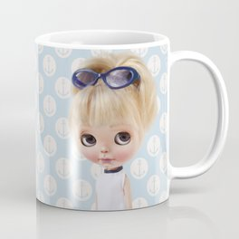 NAVY BLYTHE DOLL ANCHOR MEGAN BY ERREGIRO Coffee Mug
