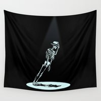 gravity Wall Tapestries featuring Anti -Gravity  by nicebleed