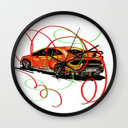 Very Fast and Very stylish !! Wall Clock