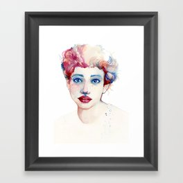 Multicolor Framed Art Print