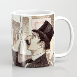 December 1894 7th Salon des 100 Art Expo Paris France Coffee Mug