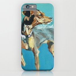 Mabel Jane the Marvelous Mystery Mutt iPhone Case