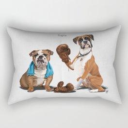 Raging Rectangular Pillow