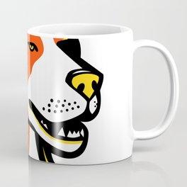 Beagle Hound Dog Mascot Coffee Mug