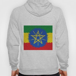 Flag of Ethiopia - Extruded Hoody