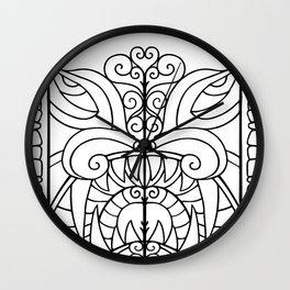 Threshold Guardian Wall Clock