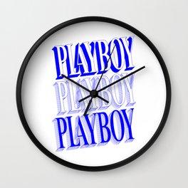 Play boy Wall Clock