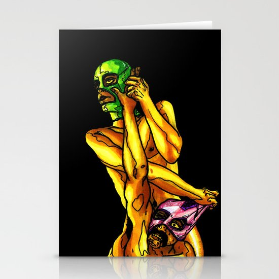 """Raw Power"" by Cap Blackard Stationery Cards"