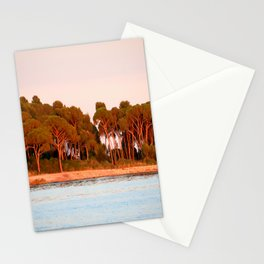Sunset Over The Lerins Islands Stationery Cards