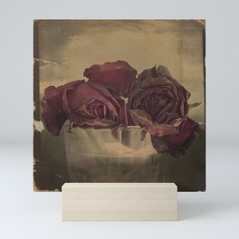 The veins of Roses Mini Art Print