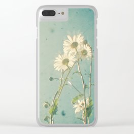 The Daisy Family Clear iPhone Case
