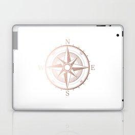 Rose Gold Compass Laptop & iPad Skin
