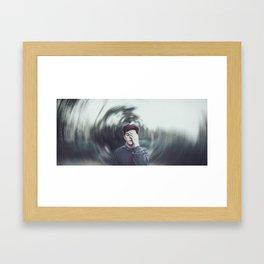 im a mess Framed Art Print