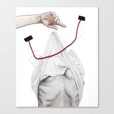Love Invites Tragedy Canvas Print