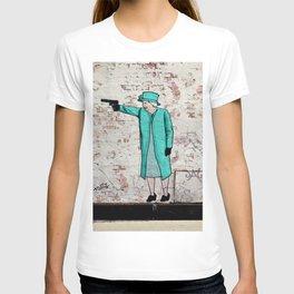 Street Art London Queen Thug Urban Wall Graffiti Artist Prolifik T-shirt
