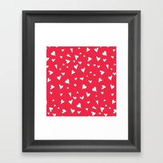apparently, I'm the queen of hearts Framed Art Print