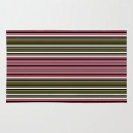 Horizontal stripe. Rug