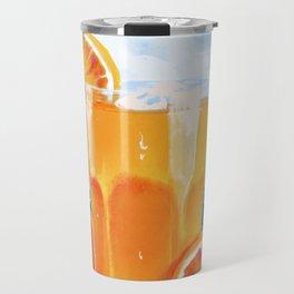 Orange juice Travel Mug