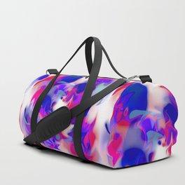 swirl of birds, abstract 1.2 Duffle Bag