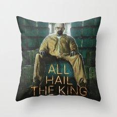 ALL HAIL THE KING Throw Pillow