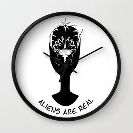 Aliens Are Real Wall Clock