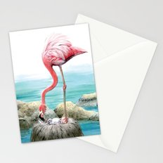 fenicotteri rosa Stationery Cards
