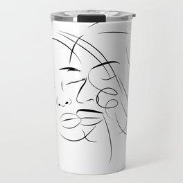 Face Love Travel Mug