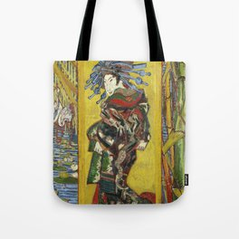 Japonaiserie by Vincent van Gogh Tote Bag