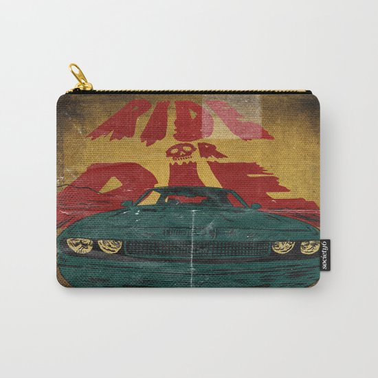 MEKANO TURBO/ride or die poster Carry-All Pouch