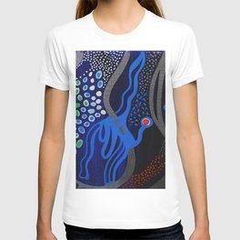 Silver blue T-shirt