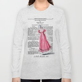 Regency Fashion Plate 1819, La Belle Assemblee Long Sleeve T-shirt