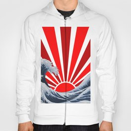 Great Wave of the Rising Sun Hoody