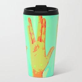 Live Long and Prosper - Spock Love Travel Mug