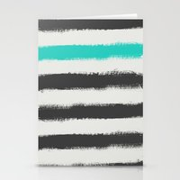 the strokes Stationery Cards featuring Paint Strokes  by Zeke Tucker