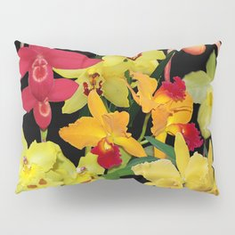 Orchids - Hot Colors! Pillow Sham