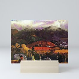 Mountain Valley Golf Course, California by George Wesley Bellows Mini Art Print