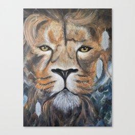 The Lion's View Canvas Print