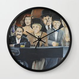 Classic Celebrities Wall Clock