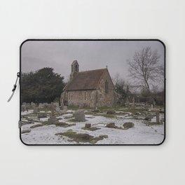 Seasalter Old Church In Winter Laptop Sleeve