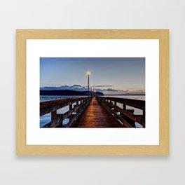 Harpers Fishing Pier Framed Art Print