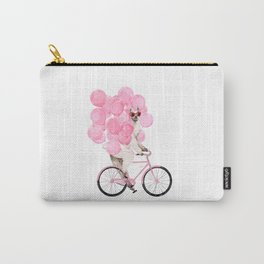 Riding Llama with Pink Balloons #1 Carry-All Pouch