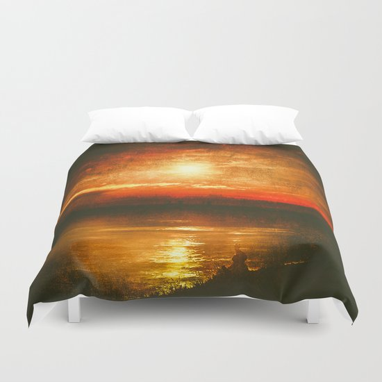 In the other world Duvet Cover