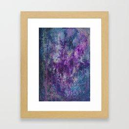 nocturnal bloom Framed Art Print