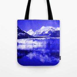 Glacier Bay Blue Tote Bag
