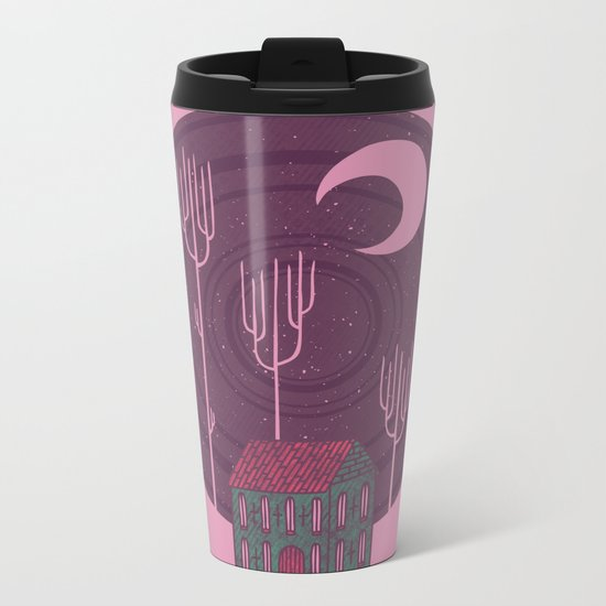Another Night Metal Travel Mug
