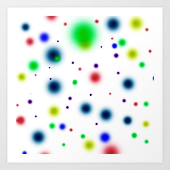 Dots Dots Dots Art Print