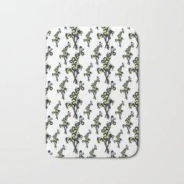 Flower Bushel Bath Mat