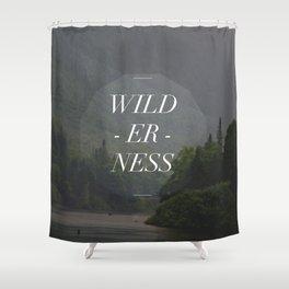 WILDERNESS — Shower Curtain