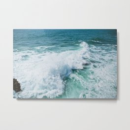 The Wave. Metal Print