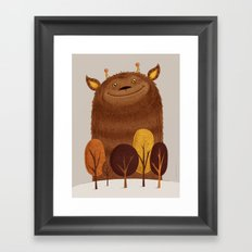 Geoffrey Framed Art Print